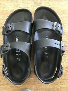 Boys Birkenstock EVA Black Sandal Size 32