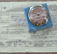 N.O.s neu herren Sowjetisch USSR Russische Uhr Raketa 2628.H ORIGINAL