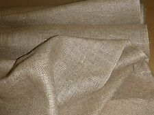 HESSIAN FOR MAKING A RAG RUG  2 METERS UPHOLSTERY SUPPLIES