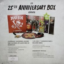 "Mad Sin ""25 th Anniversary"" 4 LP + 7"" coloured Vinyl Box incl. Belt & Lanyard"