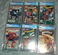 Spiderman 1-5,13 Complete Torment Series CGC  #1 9.8,#2 9.8,#3 9.6,#4 9.6,#5 9.4