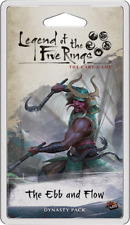 THE EBB AND FLOW Legend of the Five Rings LCG Dynasty Pack NEW