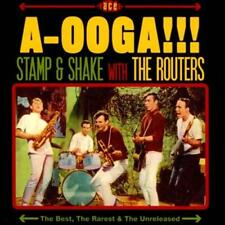 ROUTERS - A-OOGA!!! STAMP & SHAKE WITH THE ROUTERS USED - VERY GOOD CD