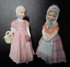 Royal Doulton Tootles Figurine #Hn1680 & Royal Doulton Hn1677 'Tinkle Bell