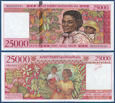 MADAGASKAR / MADAGASCAR  25000 Francs (1998) UNC  P.82