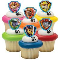 20 PAW Patrol Cupcake Toppers Cake Topper Decorations Birthday Party Supplies