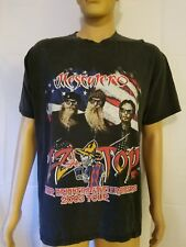 Zz Top 2003 Beer Drinkers And Hell Raisers Mascalero Concert Tour Shirt Rock