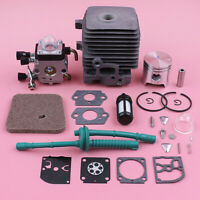 34mm Cylinder Piston Carburetor Air Filter Repair Kit For Stihl FS55 FS45 FS38
