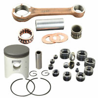 Connecting Rod Piston Rings Complete Seal Kit For Honda CRM250 246cc STD 66mm