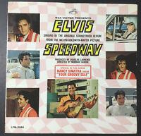 MEGA RARE Elvis Speedway MONO Album LPM-3989 Monaural Soundtrack / From Memphis