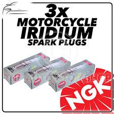 3x NGK Spark Plugs for TRIUMPH 675cc Daytona 675 (Incl R) 13-> No.6289