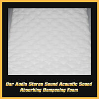 50cm X 100cm Car Automotive Noise Control Hood Door Trunk Sound Deadener Mat