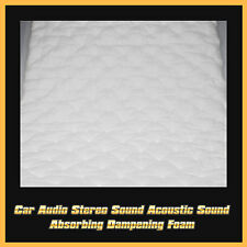50cm X 100cm Car Automotive Noise Control Hood Door Trunk Sound Deadener Mat