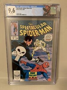 Spectacular Spider-Man #143 CGC 9.6 NM+ Punisher Custom Label