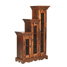 Jali Sheesham Right Small CD Step Storage Living Room Solid Wood Furniture