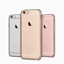 Luxury Ultra Slim Shockproof Silicone Clear protecting Case Cover for iPhone 6S
