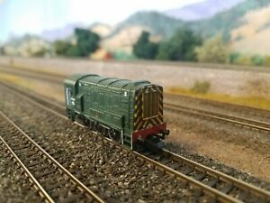 Graham Farish N Scale Class 08 Diesel Shunter in BR Green. No. D4019. DCC Fitted