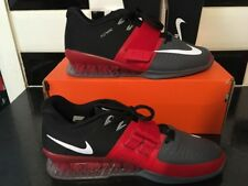 J51 Nike romaleos 3 Haltérophilie Chaussures 852933-600 Tailles UK 10 EU 45 Gym