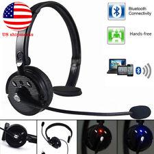 For Truck Driver Noise Cancel Wireless Mic Headphone Handsfree Bluetooth Boom