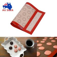 "12x16"" Non-stick Silicone Macaroon Mat Bakeware Sheet Tray Oven Liner Pad Baking"