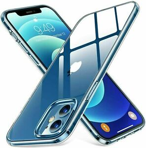 CLEAR Case For iPhone 11 12 Pro Max SE XR XS 8 7 6 Mini Shockproof Silicone TPU