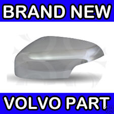 Volvo V70 S60 (2007) (Matt Chrome) Left Hand Wing Door Mirror Back Cover Casing