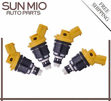 4Pcs Fuel Injectors For Subaru Impreza WRX STI 2.5L 06-12 Baja Turbo 2.5L 04-06