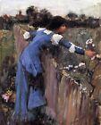 Print - The Flower Picker - John William Waterhouse - 1895