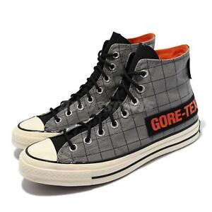 Converse Chuck 70 GTX Gore-Tex Grey Black Orange Men Unisex Casual Shoes 171444C