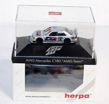 "Herpa 036160, AMG Mercedes C 180 ""AMG Team"", 1:87, im Originalkarton    #ab1499"