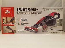 Dirt Devil Scorpion Plus Hand Vacuum w/ Motorized Brushroll | SD30025B | NEW