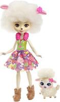 New Mattel FNH25 Enchantimals Lorna Lamb Doll And Flag