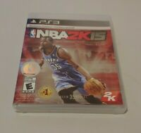 NBA 2K15 (Sony PlayStation 3, 2014) COMPLETE 2K BASKETBALL SPORTS EVERYONE PS3