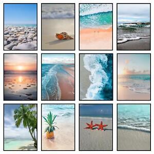 Beach Prints Coastal Art Wall Sea Pictures Ocean Nature Bedroom Poster
