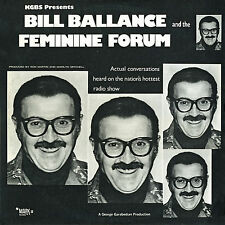 Bill Ballance & Feminine Forum-Comedy--Rare Pic Disc LP