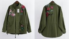 Unbranded Cotton Floral Coats & Jackets for Women