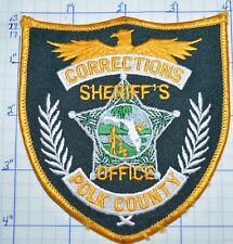 FLORIDA, POLK COUNTY SHERIFF'S OFFICE CORRECTIONS PATCH