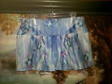 Lucky In Love Pocket Tennis Skirt skort  blue multi sz Large