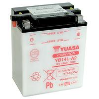 Yuasa YB14L-A2, 12v 14Ah 175 CCA Motorbike Motorcycle Battery Inc Filling Kit