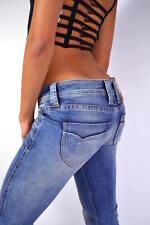 PEPE BANJI Jeans geniale Waschung N68  -Low Cut- Light Bootcut - NEU