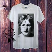 John Lennon T-Shirt Men OR Women's Fitted Beatles UK British Liverpool McCartney