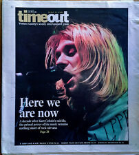 KURT COBAIN - STAR NEWSPAPER / TIMEOUT SUPPLEMENT - COVER STORY -APR. 8TH, 2004