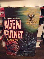 Alien Planet by Fletcher Pratt, PB, Ace Book F-257