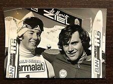 INGEMAR  STENMARK SKIING LEGEND original photo World Series St.Moritz 5.12.1976