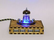 Steampunk USB Hub Flat Radio - Steampunk / Industrial Style - School gift