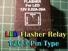 3-Pin Electronic Flasher Relay Unit For LED Indicators