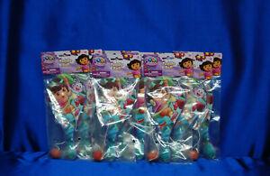 Dora 8 Paddle Balls la exploradora 8 bolas de padel Dora Party Favors Free SHIP