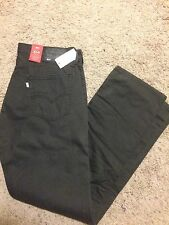 NWT LEVIS 514 STRAIGHT JEANS MENS 34X34 STYLE DARK GRAY MSRP $60