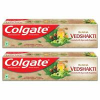 Colgate Swarna Vedshakti Toothpaste - 200gm (Pack of 2) Free Shipping