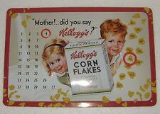Kelloggs Cornflakes Perpetual Calendar Sign (EB14B)